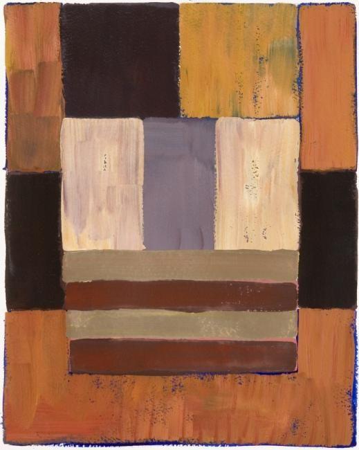 Georges Troubat - Composition abstraite 08 - rose et mauve 34