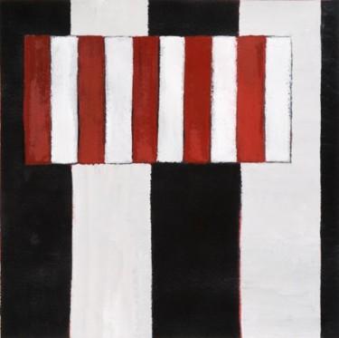 Composition abstraite 08 - rouge et noir 34