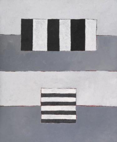 Composition abstraite 08 - gris blanc noir 65