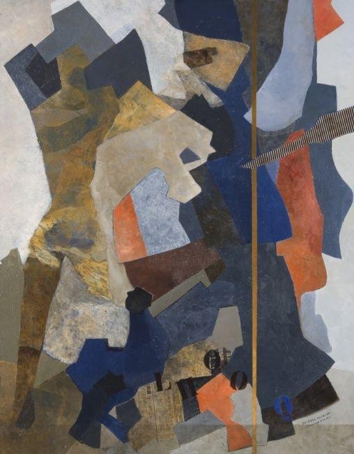 Georges Troubat - Nu sans escalier - Hommage à M.D.